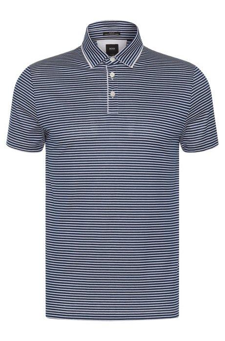 00344649 BOSS - Italian Cotton Polo Shirt, Slim Fit | T-Pryde