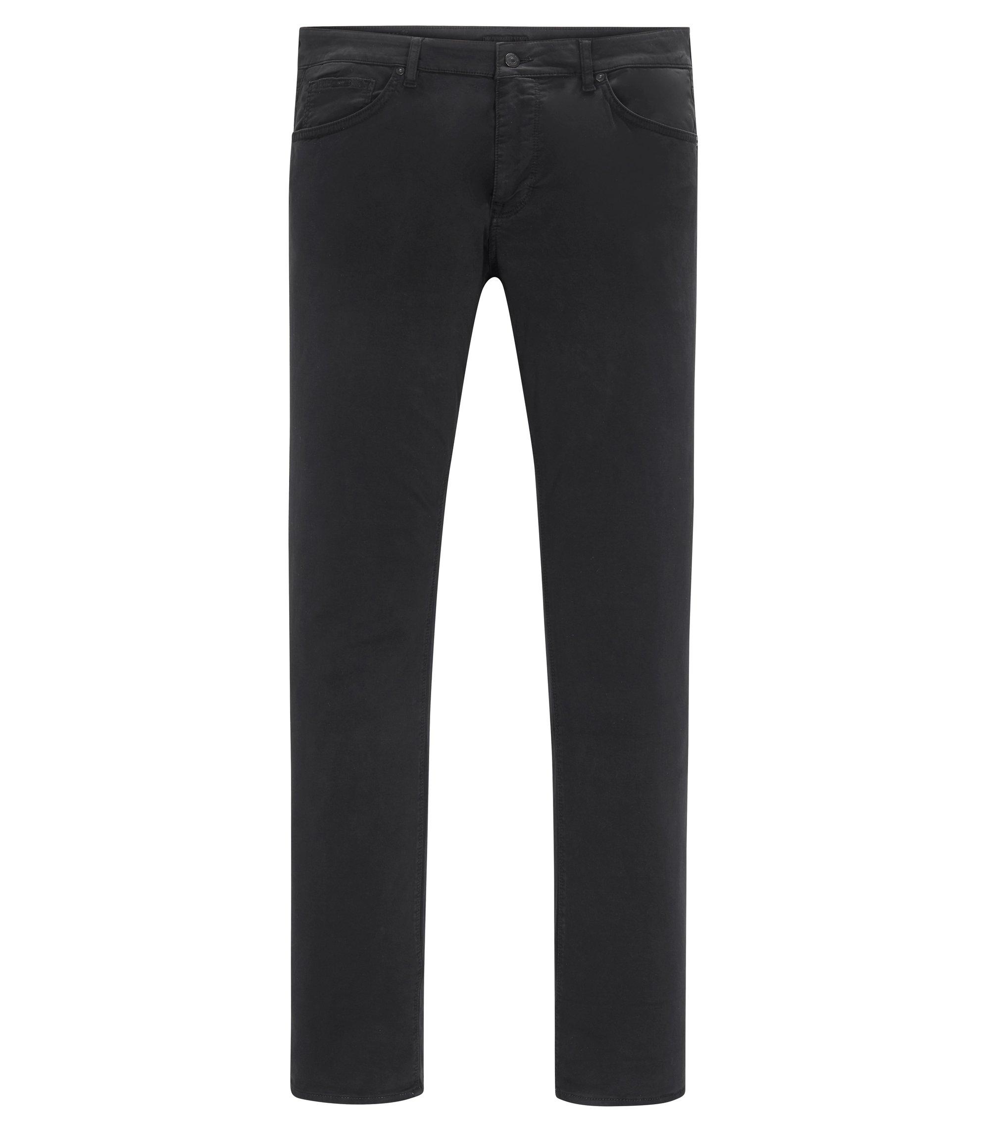 Stretch Cotton Pant, Regular Fit | Maine, Black