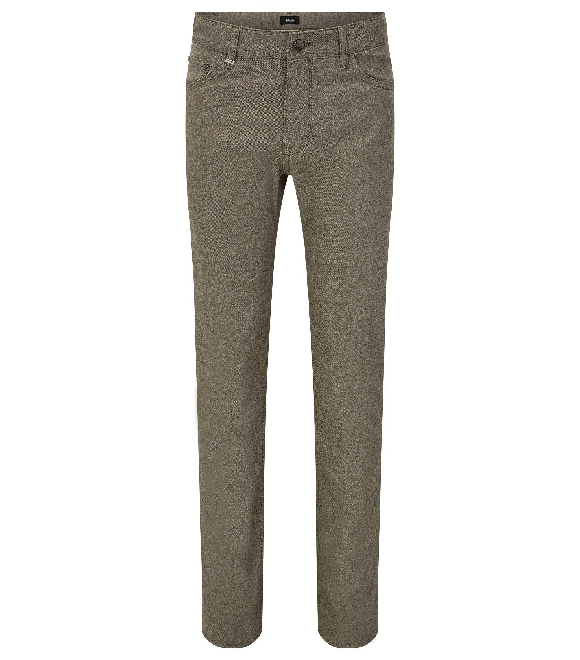 11.6 oz Stretch Cotton Jeans, Regular Fit | Maine, Dark Green