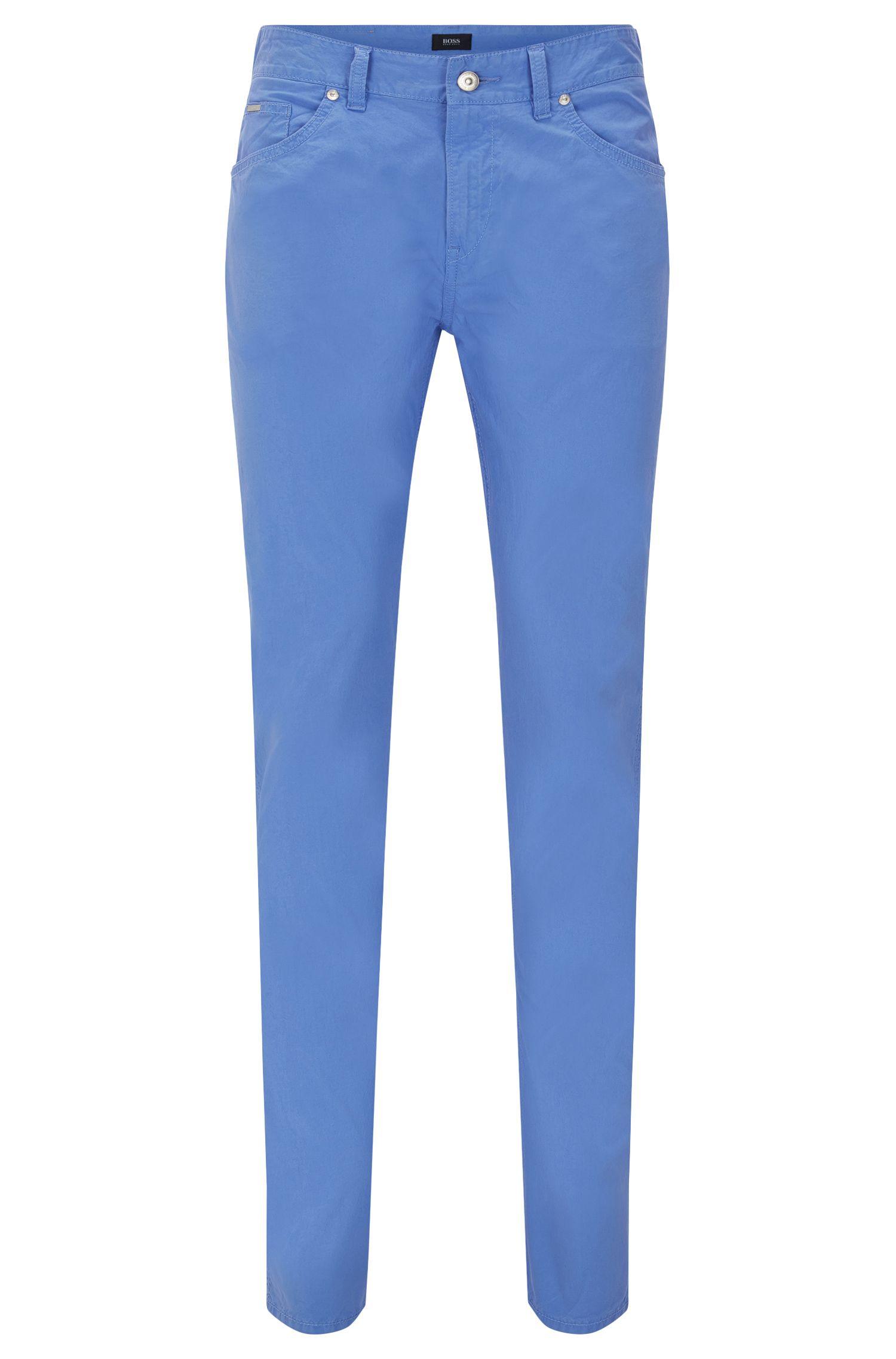 Stretch Cotton Pant, Slim Fit | Delaware