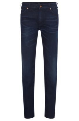 'Maine' | Regular Fit, 11.5 oz Stretch Cotton Blend Jeans, Blue