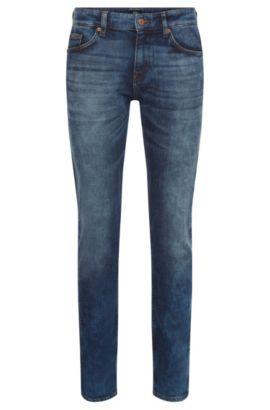 11 oz Stretch Cotton Jeans, Slim Fit | Delaware, Blue