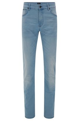 8 oz Cotton Blend Jeans, Regular Fit | Maine, Turquoise