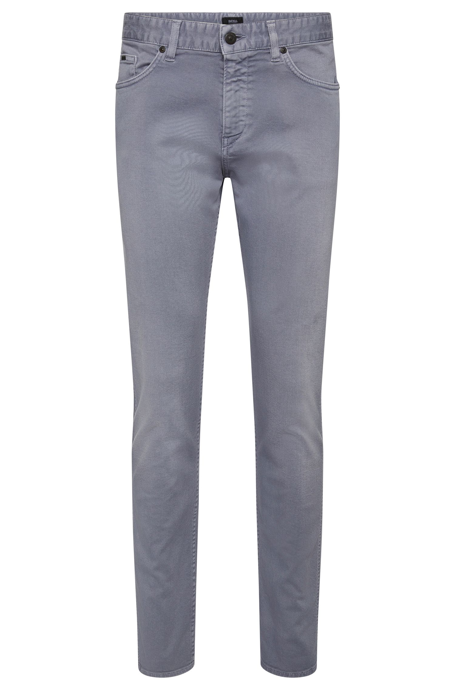 8.5 oz Stretch Cotton Blend Jeans, Slim Leg   Delaware