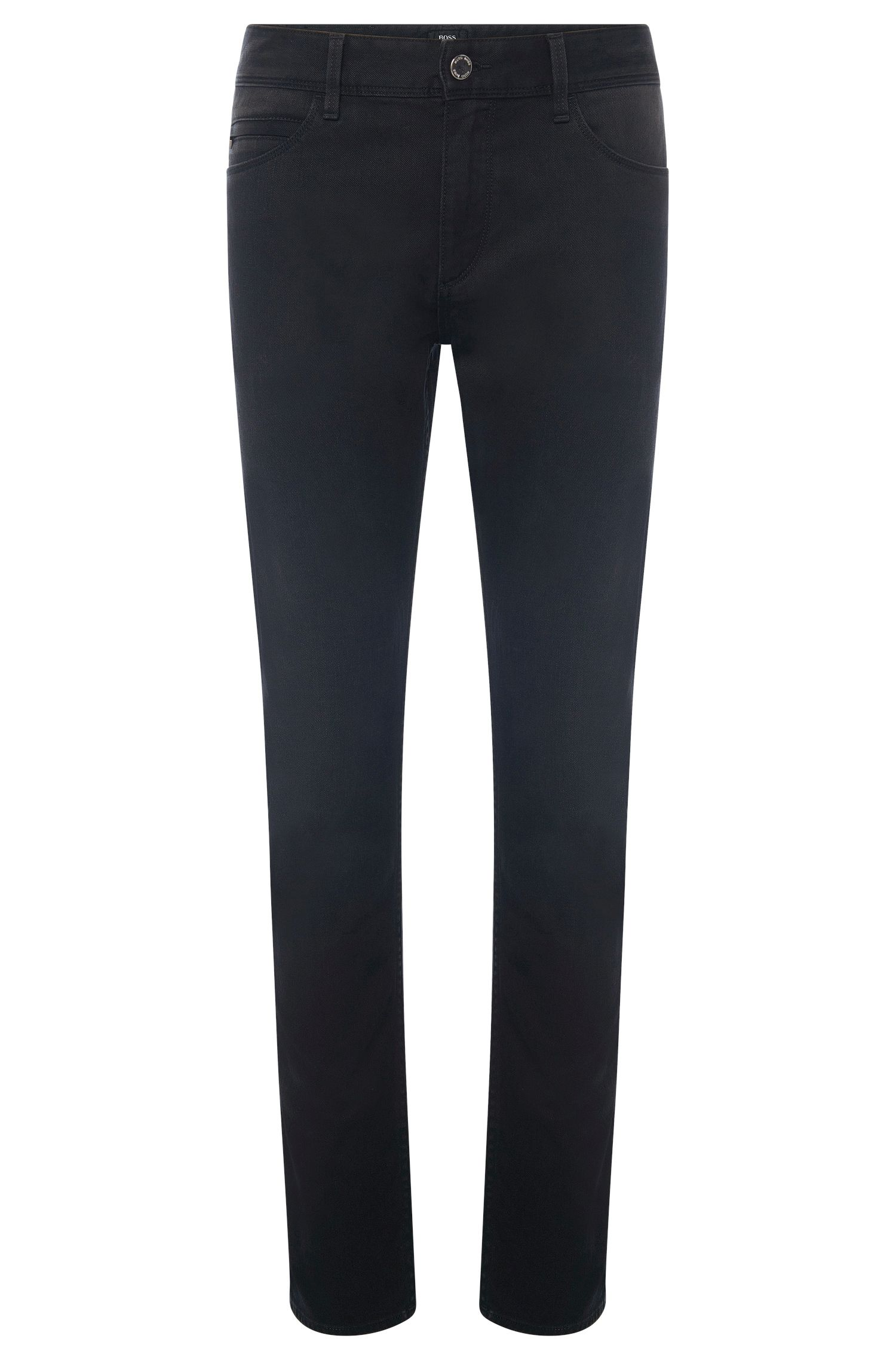 10 oz Stretch Cotton Jeans, Slim Fit | Delaware