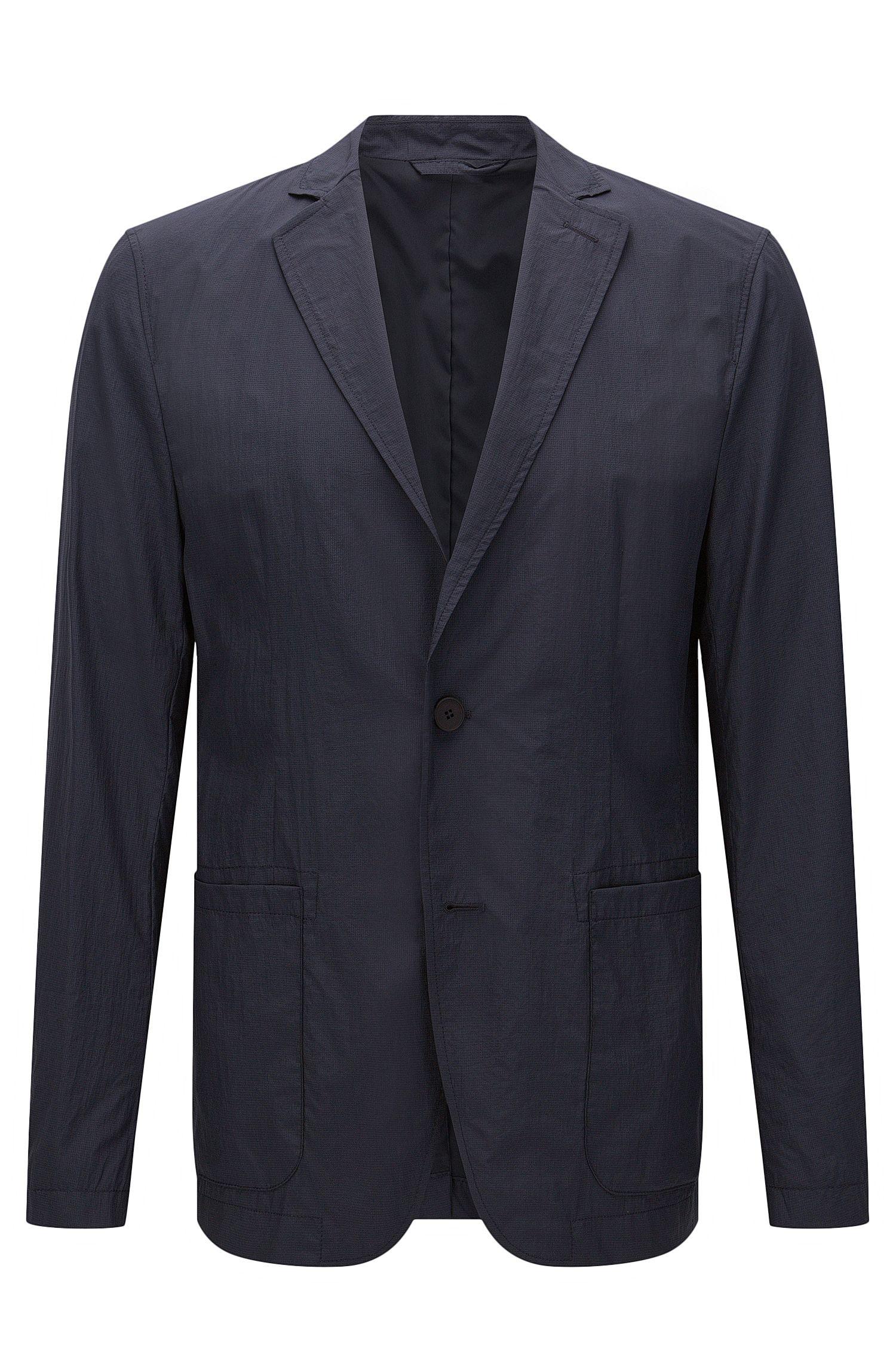 'Noas' | Slim Fit, Nylon Packable Travel Jacket