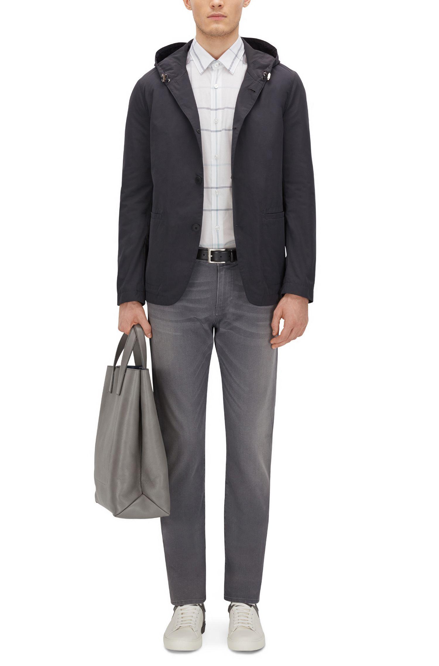 Cotton Button Down Shirt, Regular Fit | Lukas F, White