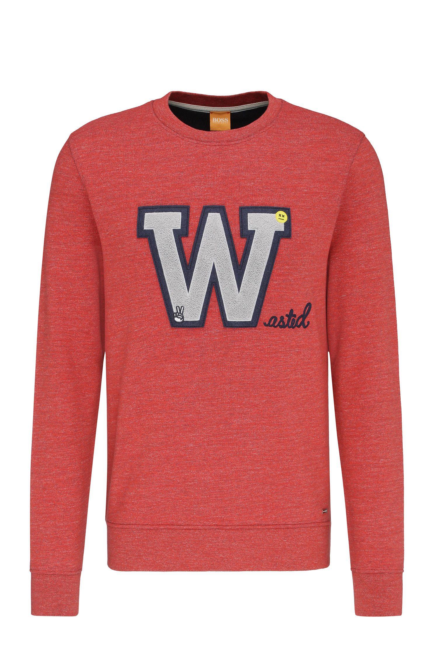 'Wariety' | Cotton Applique Sweatshirt