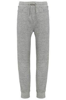 'Shines' | Cotton Sweatpants, Light Grey