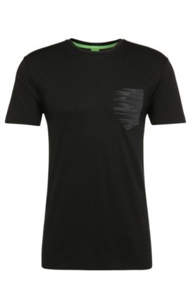 Cotton Pocket T-Shirt | Teep, Black