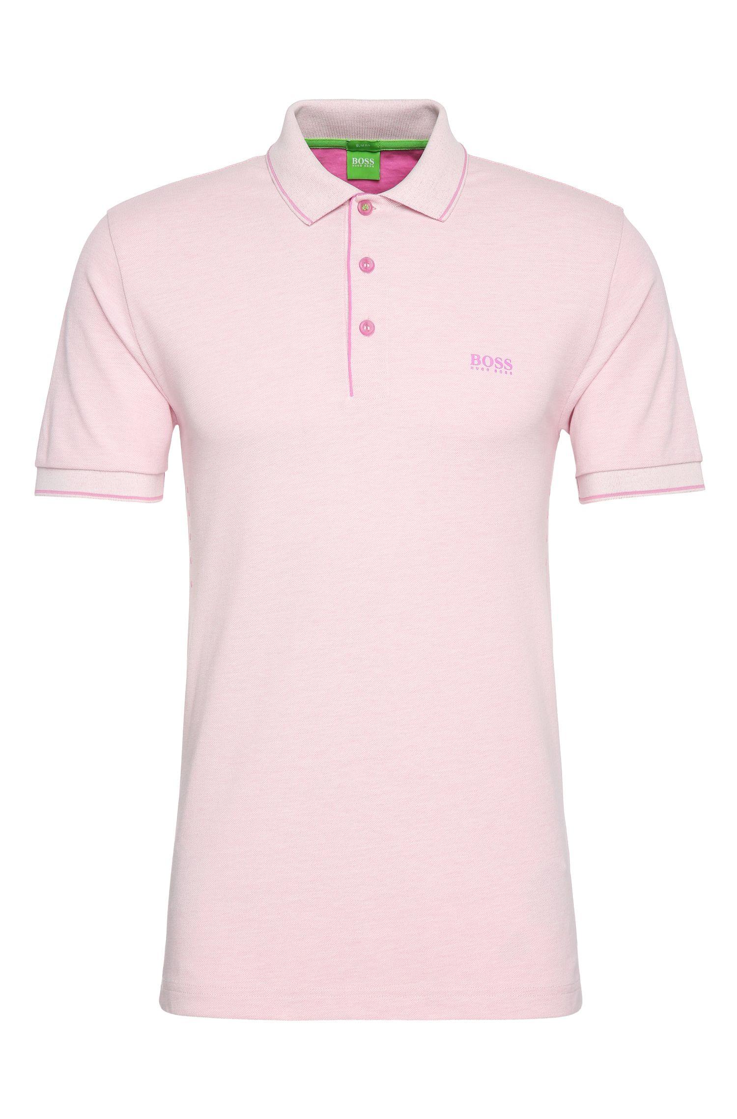 'Paule' | Slim Fit, Stretch Cotton Blend Polo