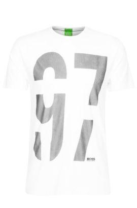 'Tee' | Stretch Cotton T-Shirt, White