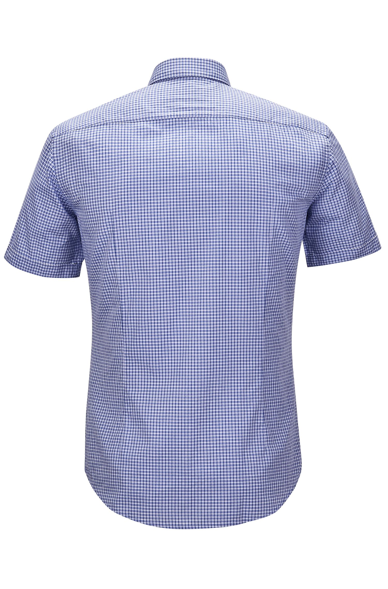 Cotton Blend Button-Down Shirt, Slim Fit | Ronn