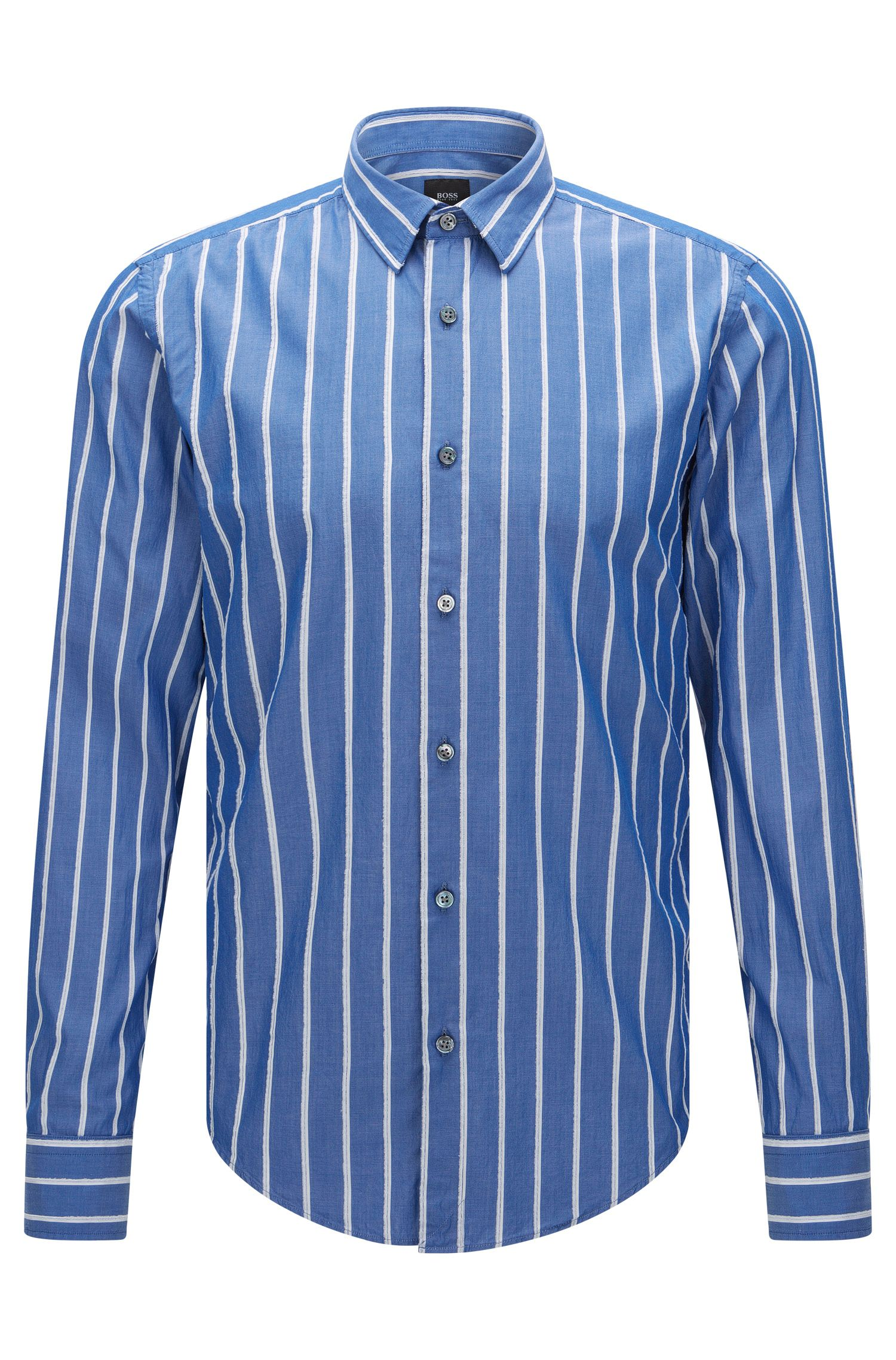 'T-Riccardo F' | Slim Fit, Italian Cotton Button Down Shirt