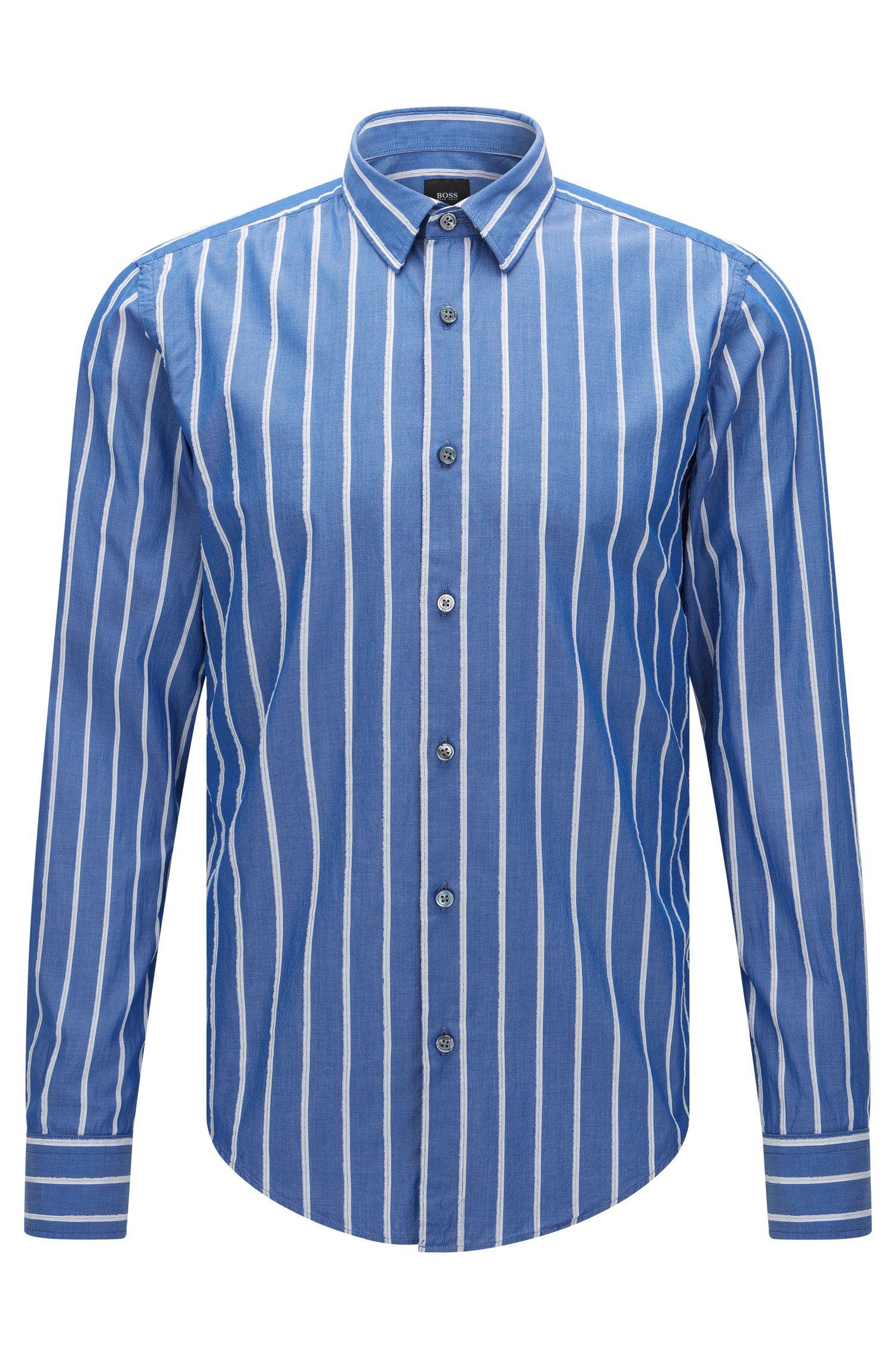 'T-Riccardo F'   Slim Fit, Italian Cotton Button Down Shirt