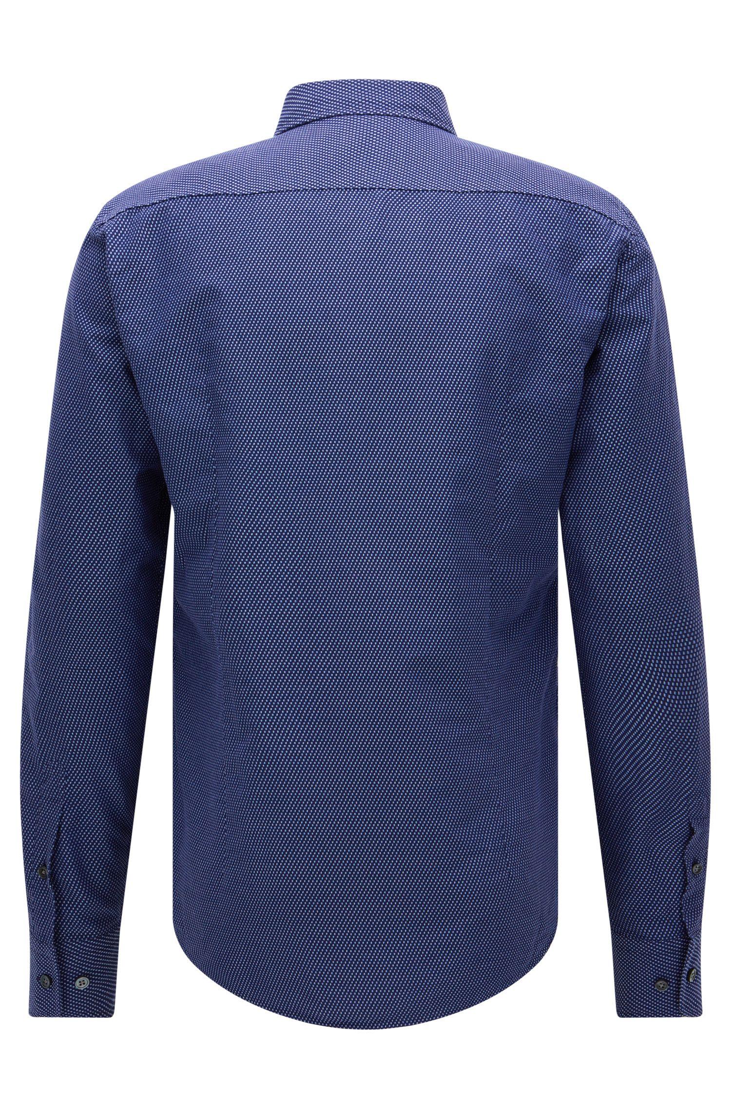 Italian Cotton Button Down Shirt, Slim Fit | T-Riccardo F
