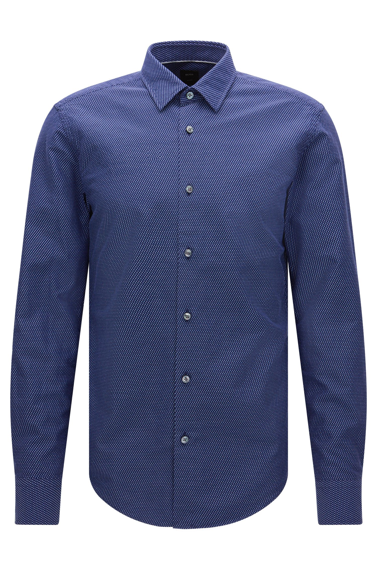 Italian Cotton Button Down Shirt, Slim Fit | T-Riccardo F