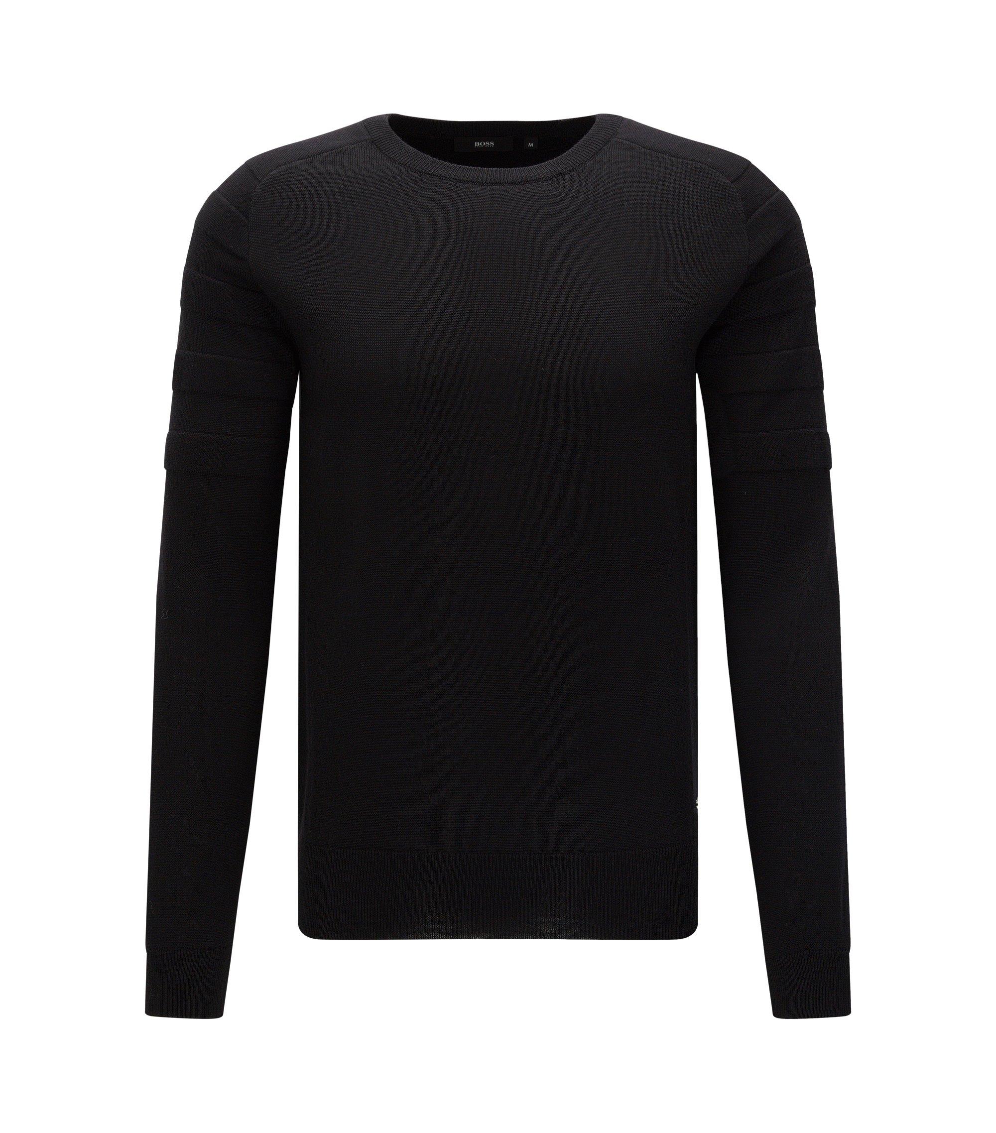 Virgin Wool Sweater | Omoto, Black