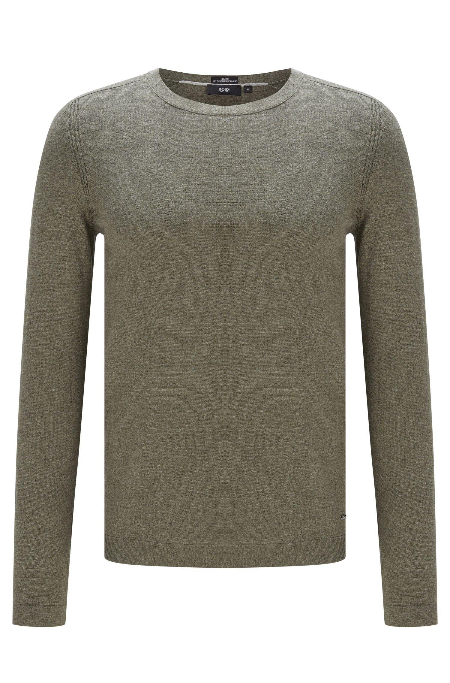 'Onario' | Cotton Silk Cashmere Sweater