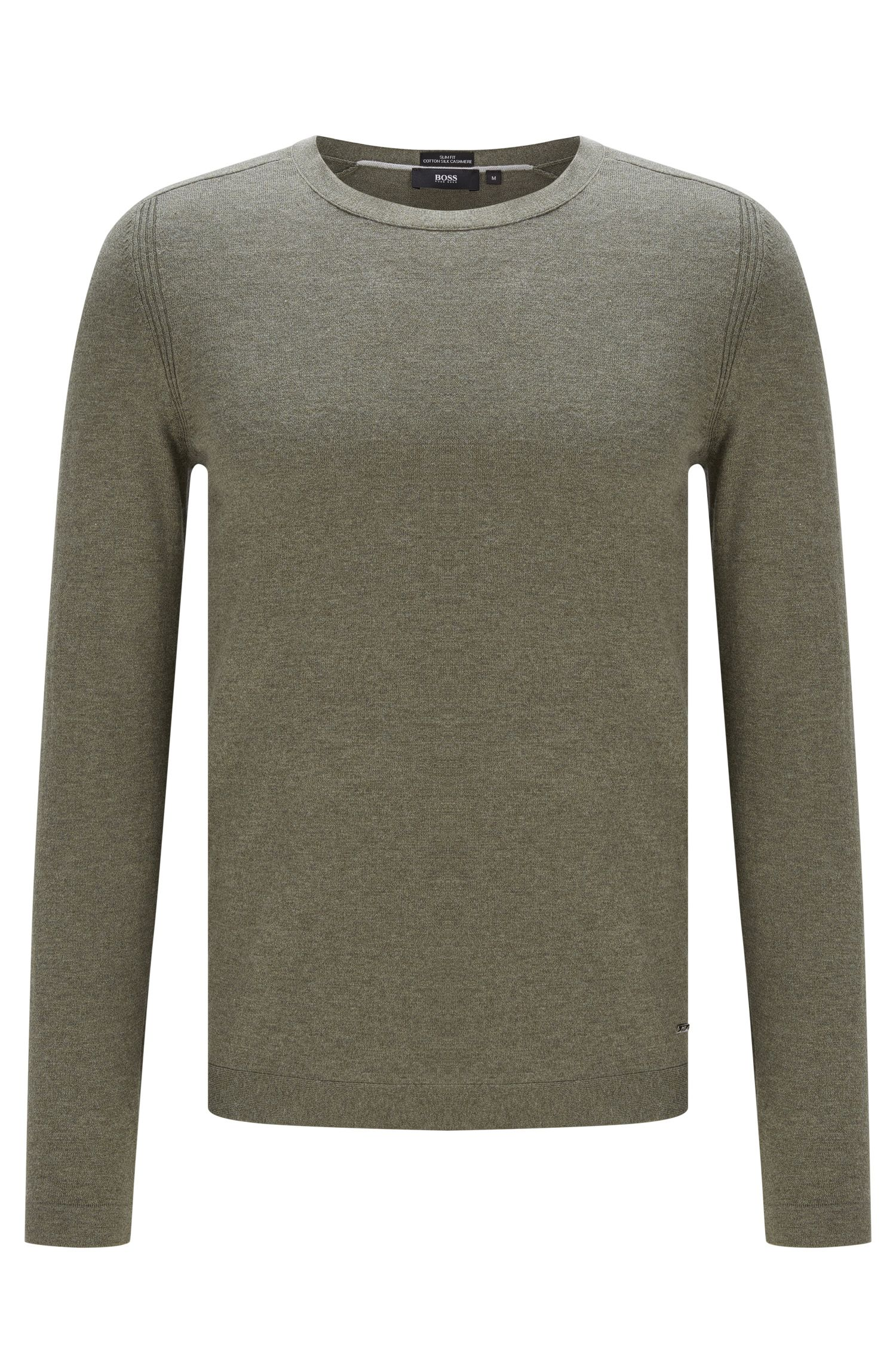 'Onario' | Cotton Silk Cashmere Sweater
