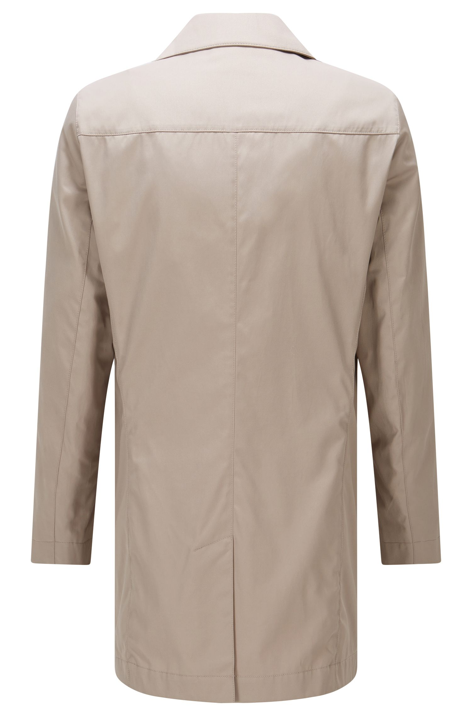 'Dais' | Water Repellant Cotton Blend Car Coat