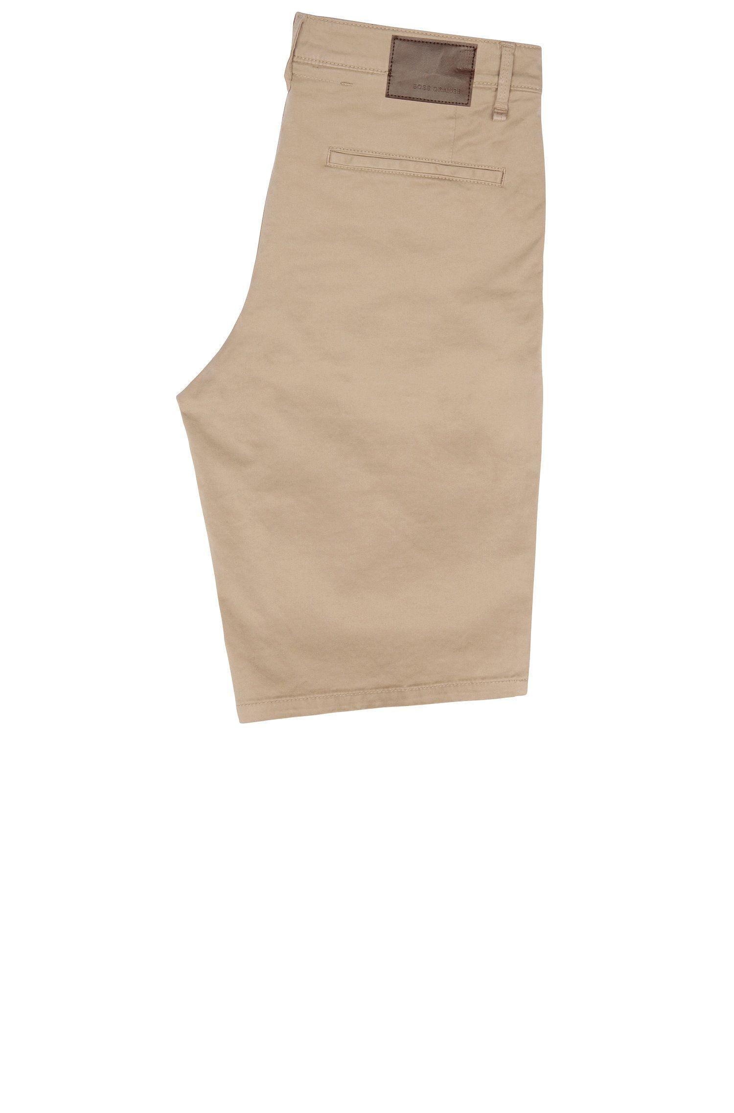 Stretch Cotton Short, Slim Fit | Schino Slim Shorts D