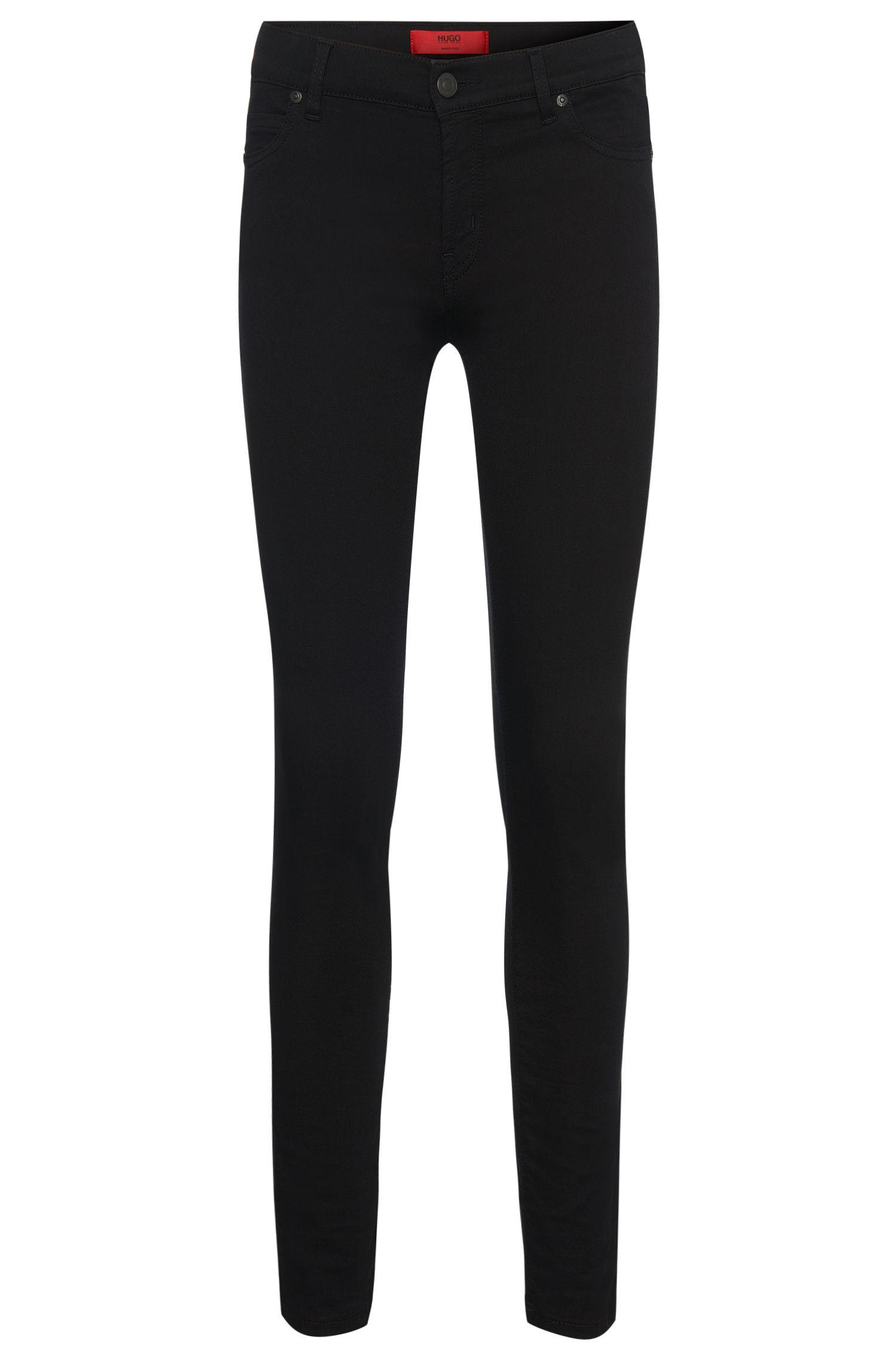 'Georgina' | Stretch Cotton Blend Mid-Rise Jeans