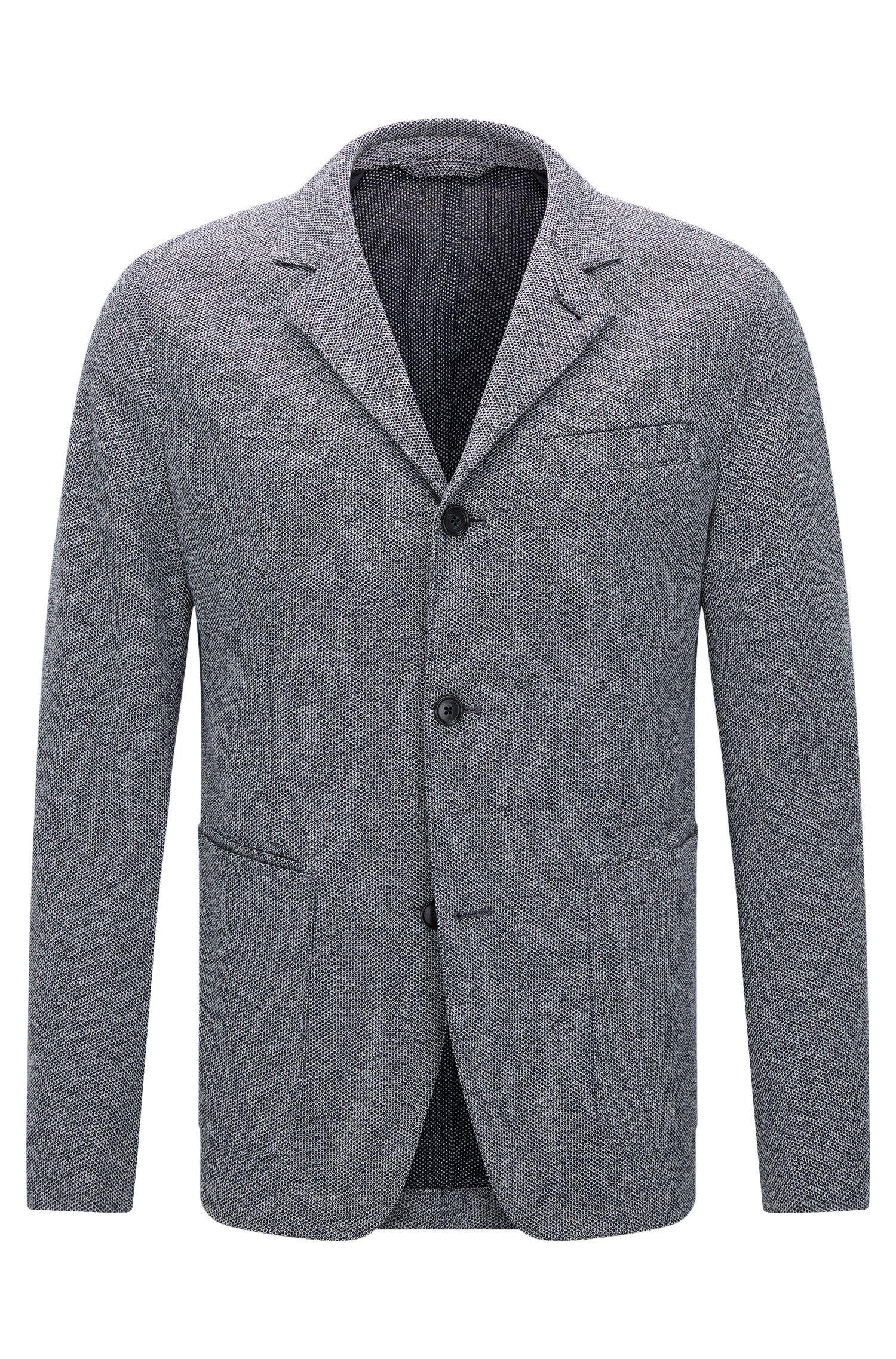 Italian Cotton Jersey Sport Coat, Slim Fit | T-Nedd