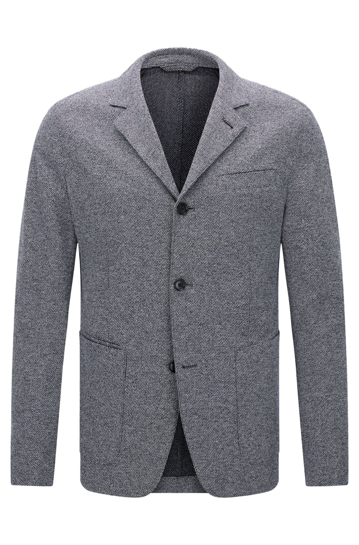 Italian Cotton Jersey Sport Coat, Slim Fit | T-Nedd