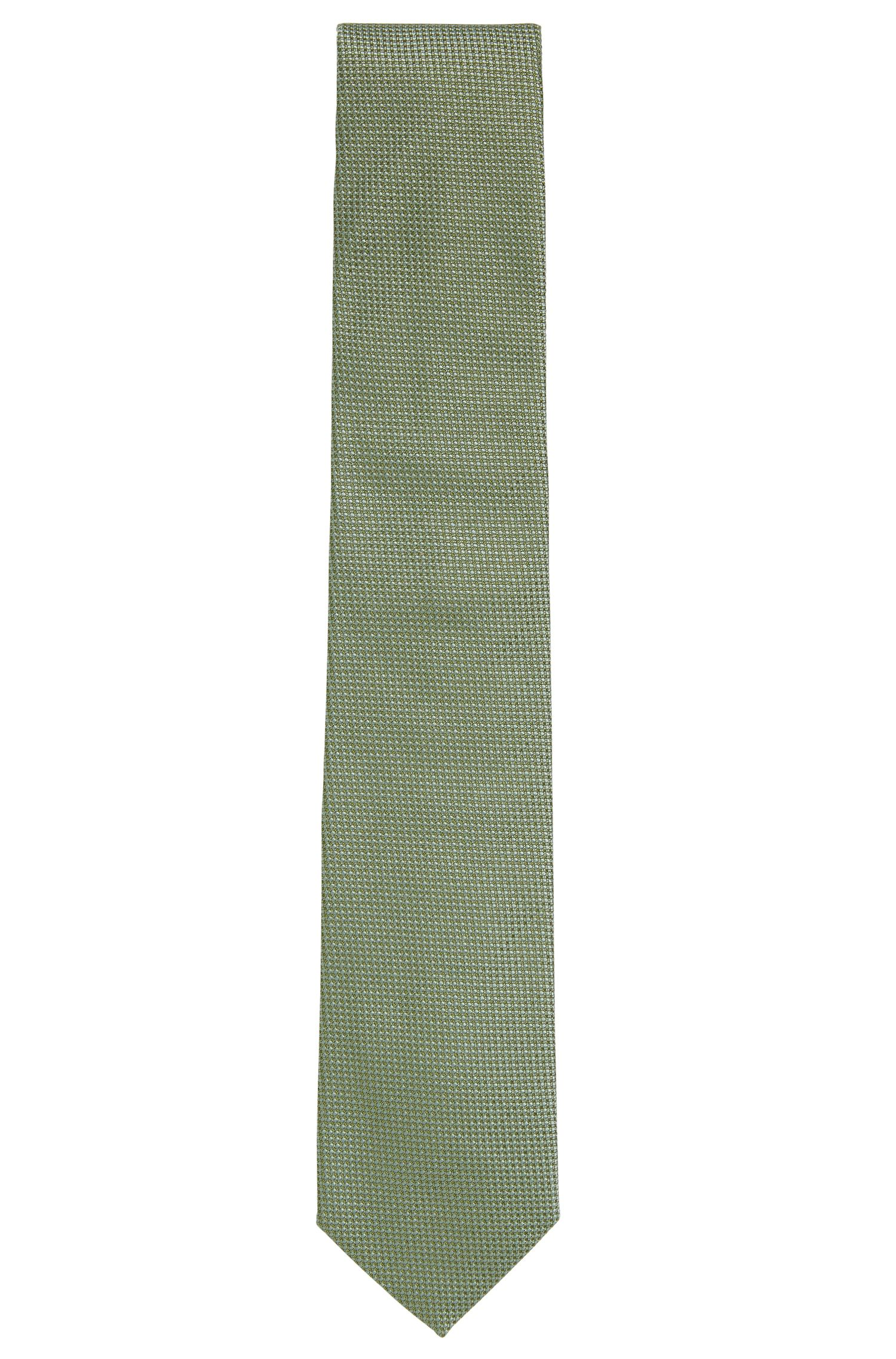 Embroidered Silk Tie, Regular | Tie 7.5 cm