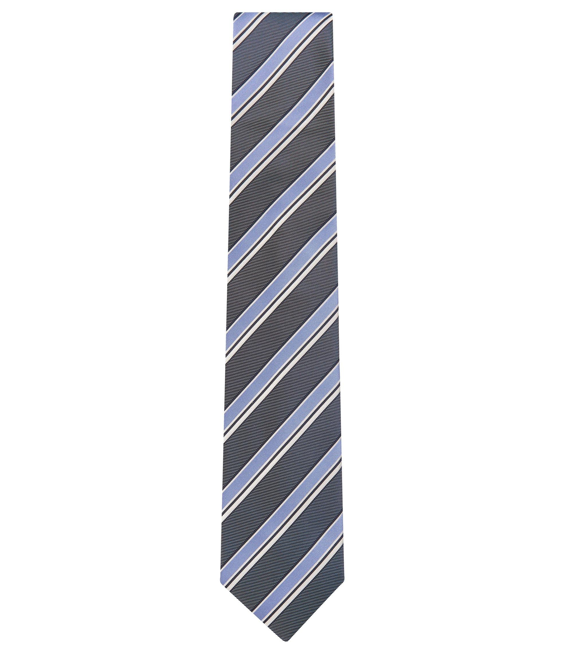 Silk Tie, Regular | Tie 7.5 cm, Open Purple