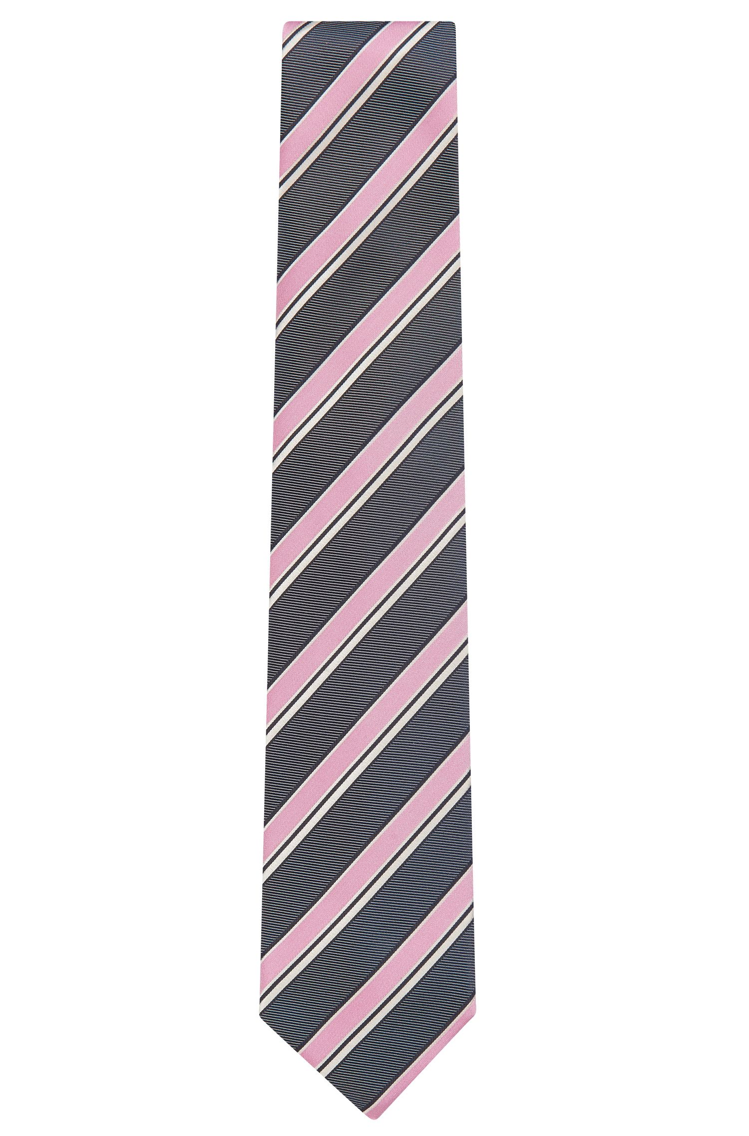 Silk Tie, Regular | Tie 7.5 cm, light pink