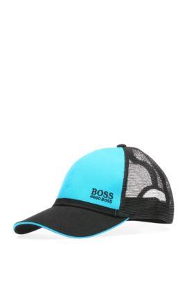 Mesh Baseball Cap   Cap 20, Open Blue