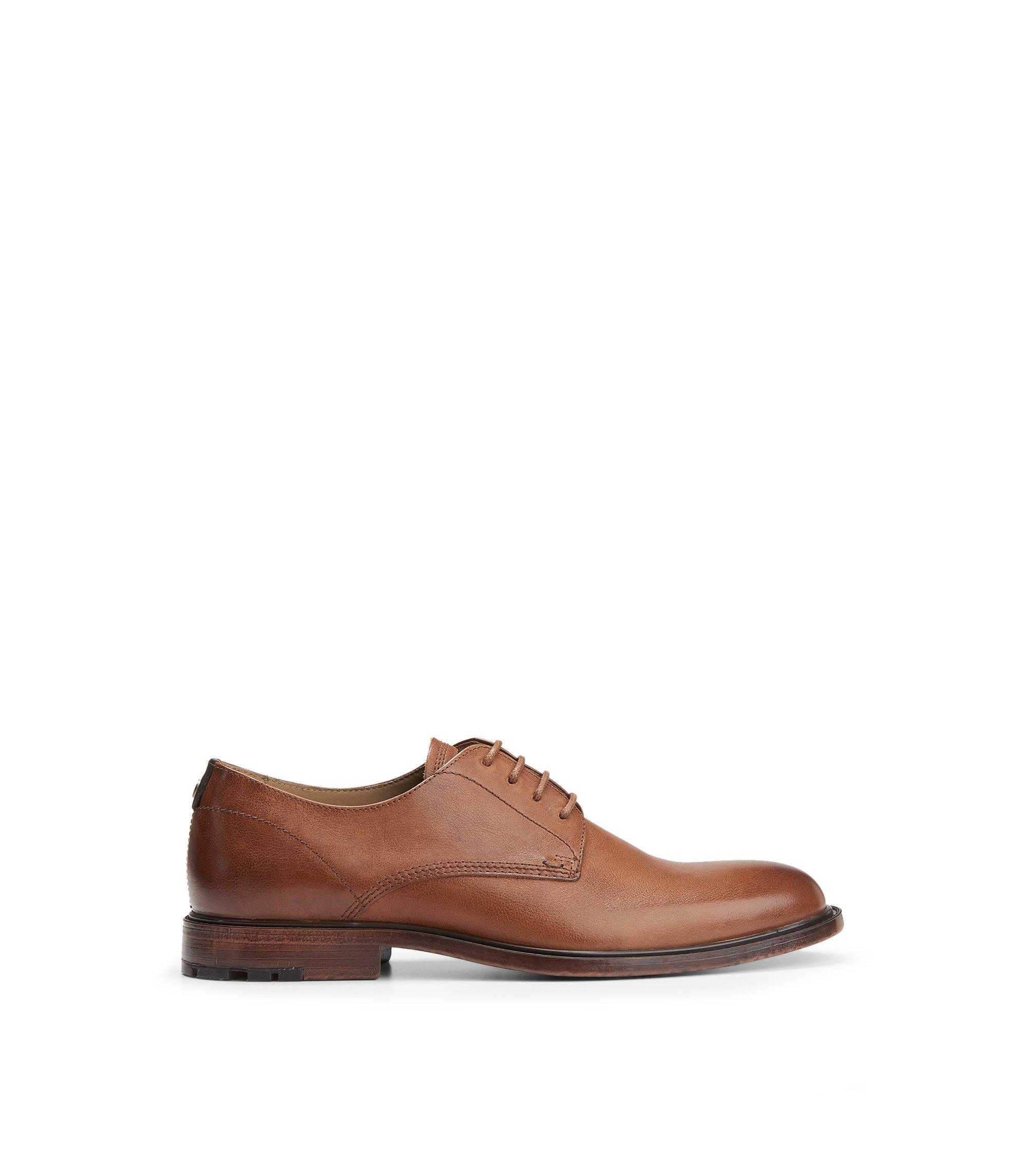 Leather Derby Dress Shoe | Cultroot Derb ltws, Brown