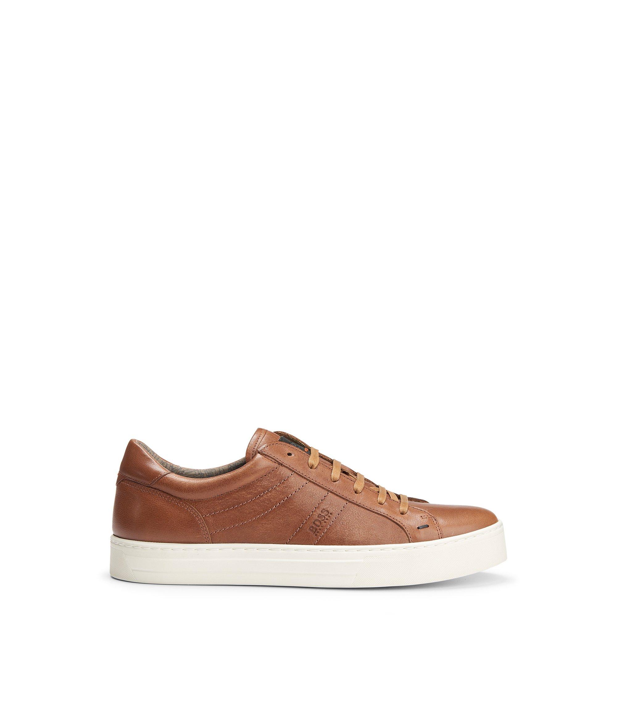 Calfskin Vintage Sneaker | Noir Tenn Itws, Brown