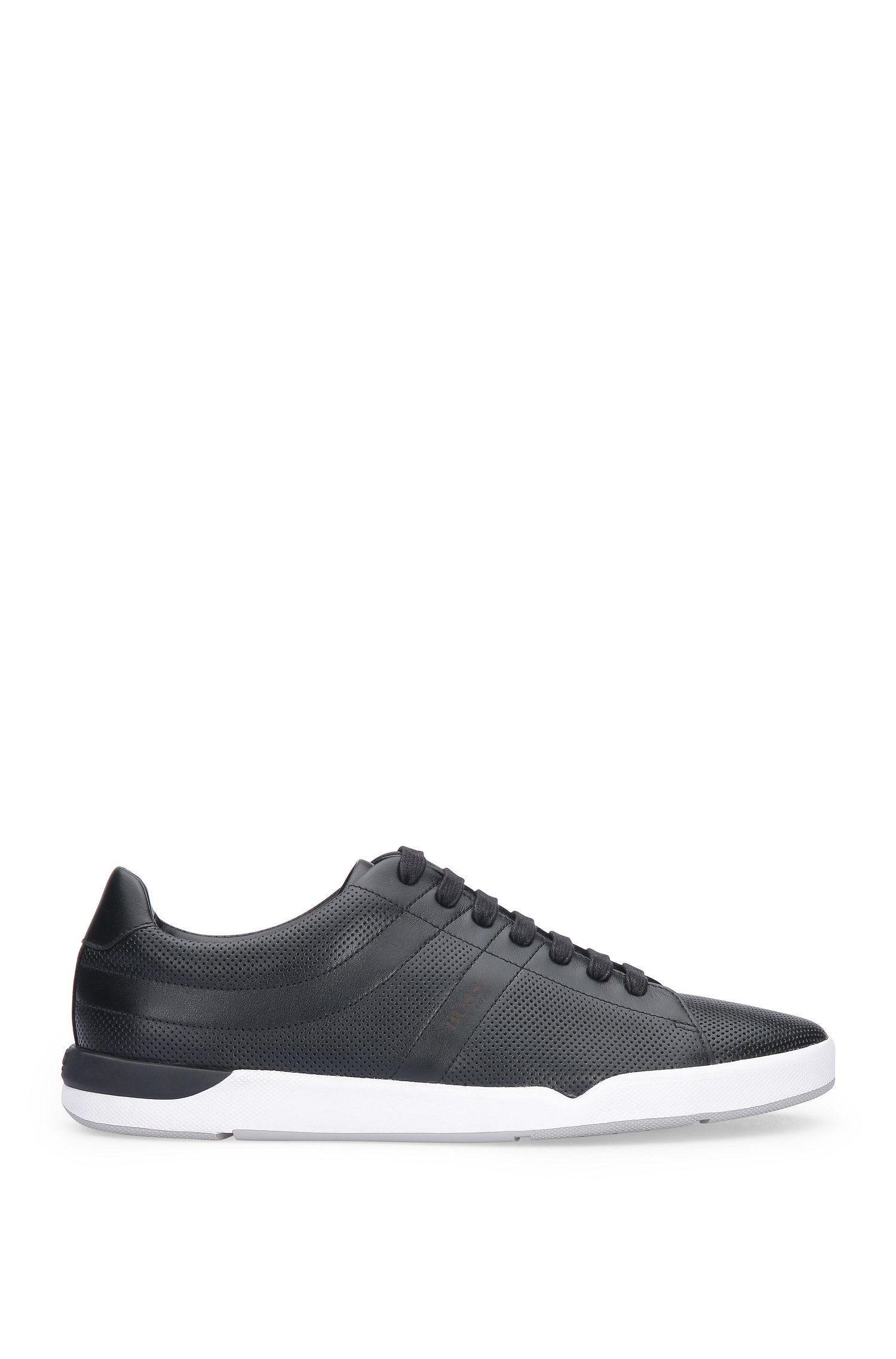 Leather Perforated Sneaker | Stillnes Tenn ltpf