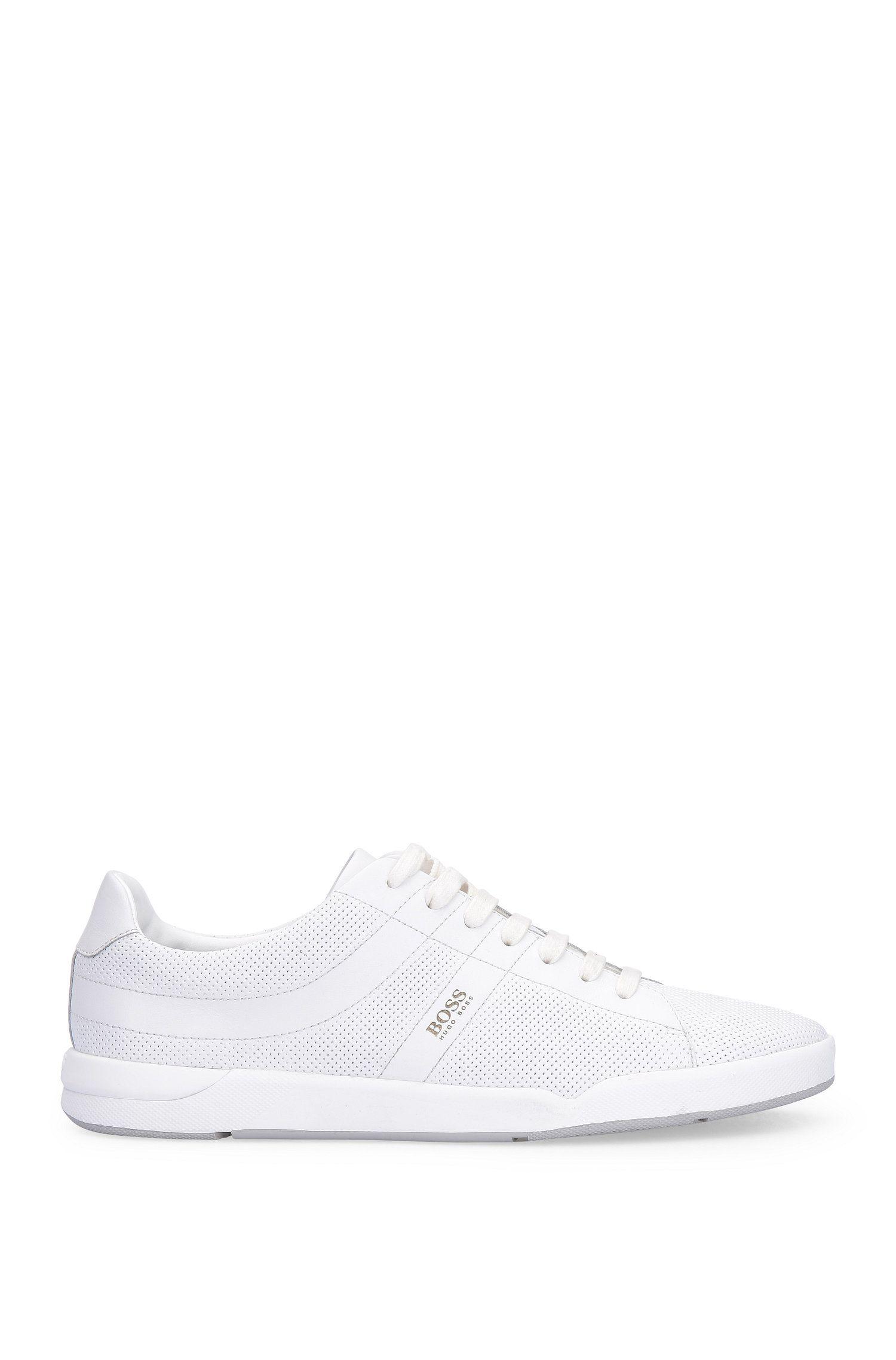 'Stillnes Tenn ltpf'   Leather Perforated Sneakers