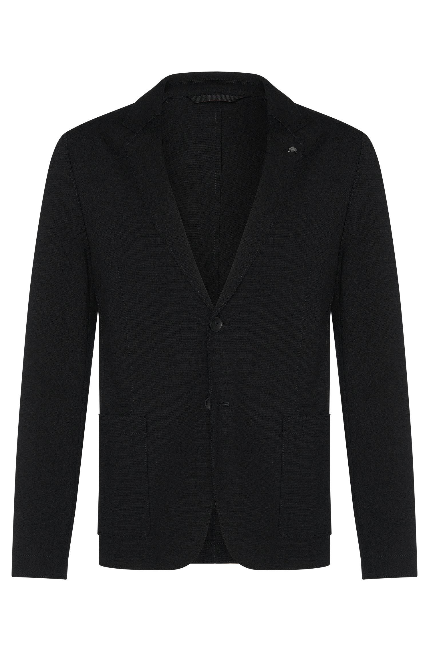 Stretch Jersey Sport Coat, Slim Fit | Agalto