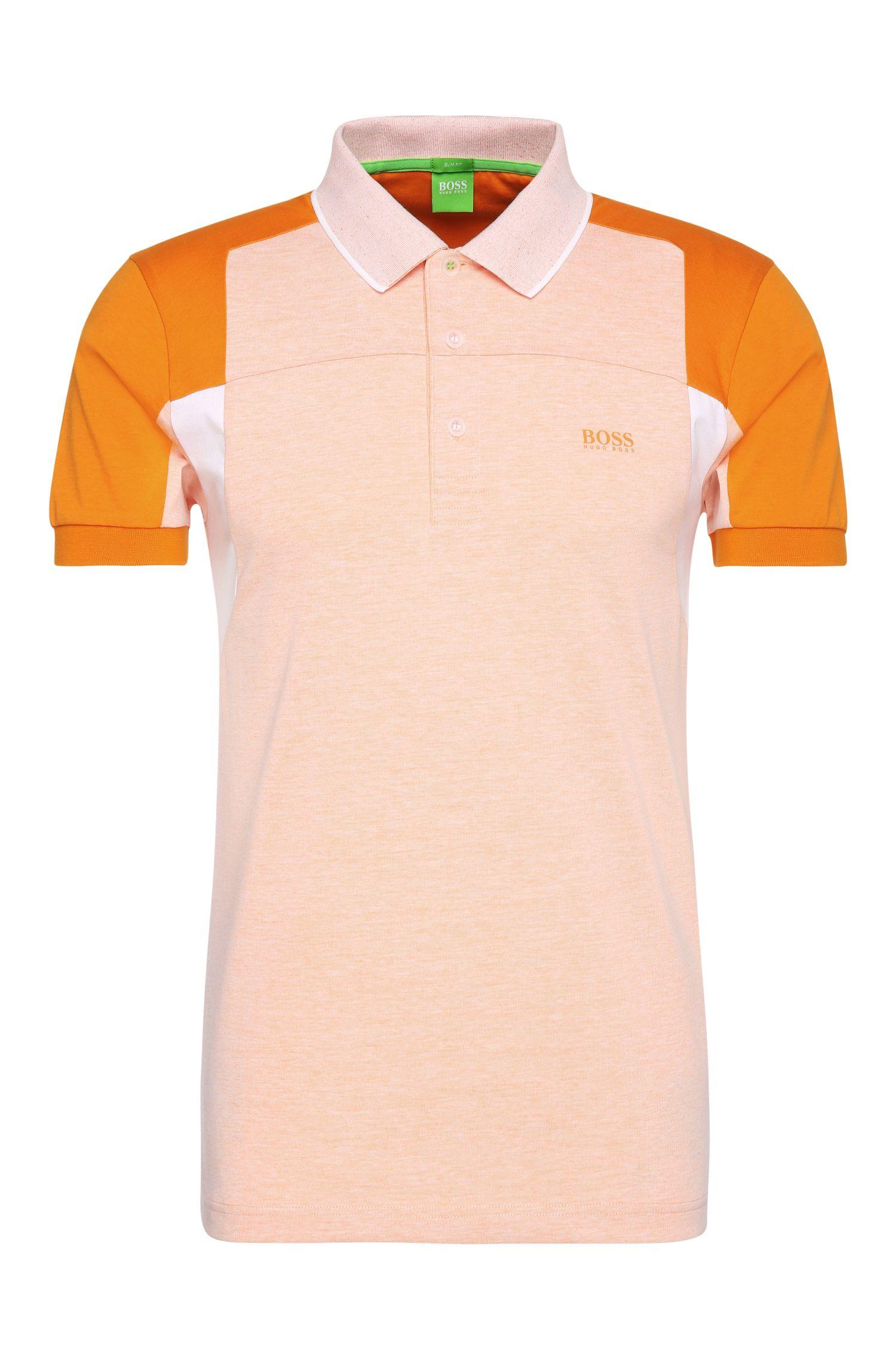 'Paule' | Slim Fit, Cotton Polo Shirt