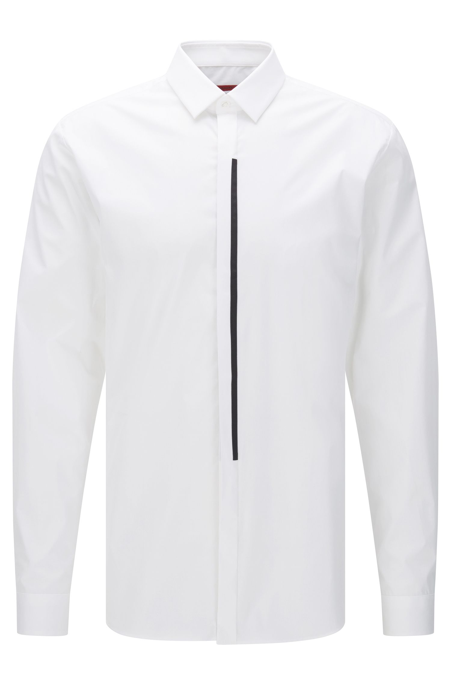 'Emac' | Extra Slim Fit, Stretch Cotton Button Down Shirt