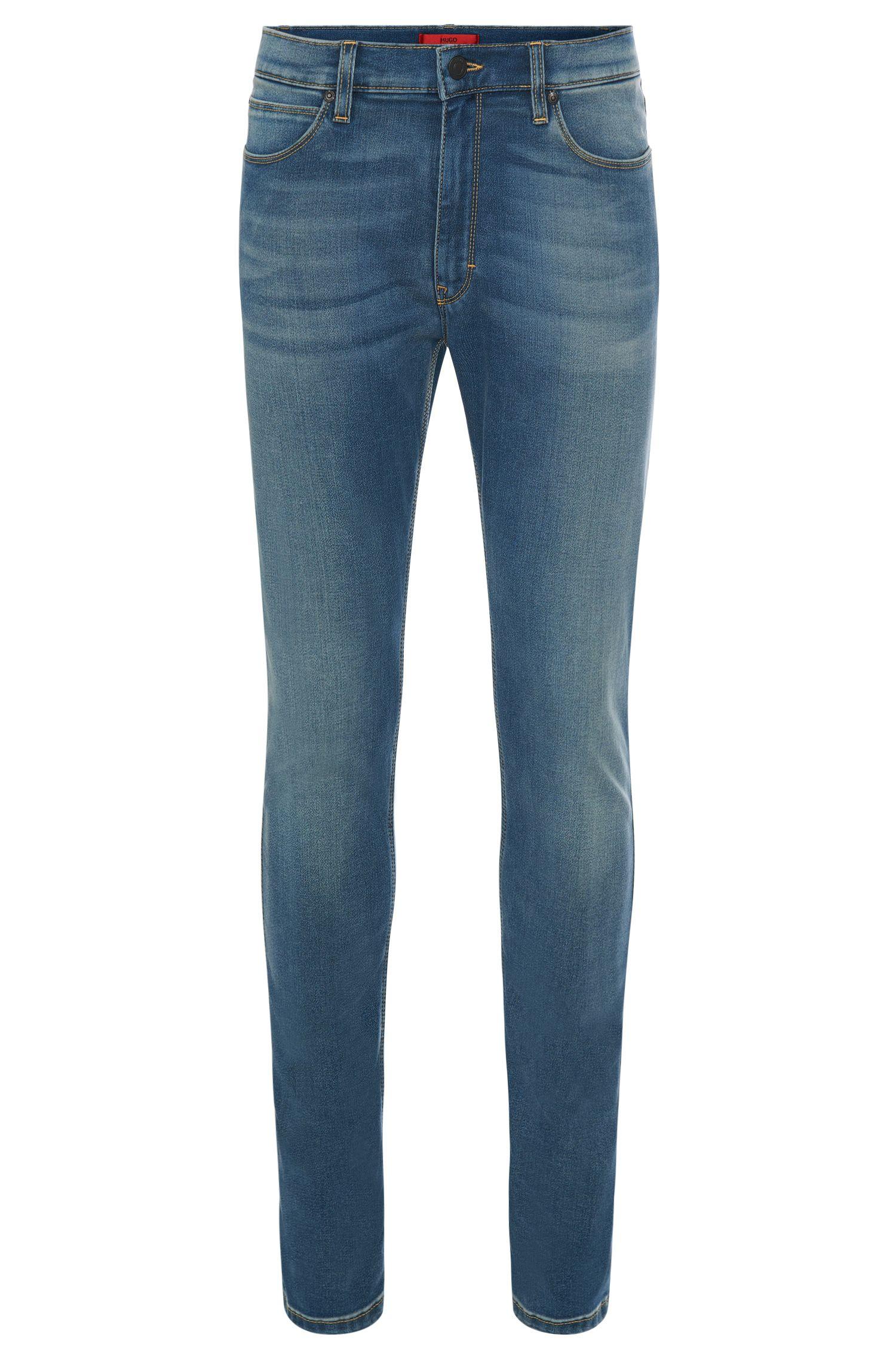 11.75 oz Stretch Cotton Blend Jeans, Skinny FIt   Hugo 734