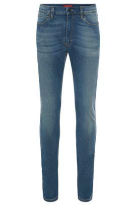 11.75 oz Stretch Cotton Blend Jeans, Skinny FIt   Hugo 734, Light Blue