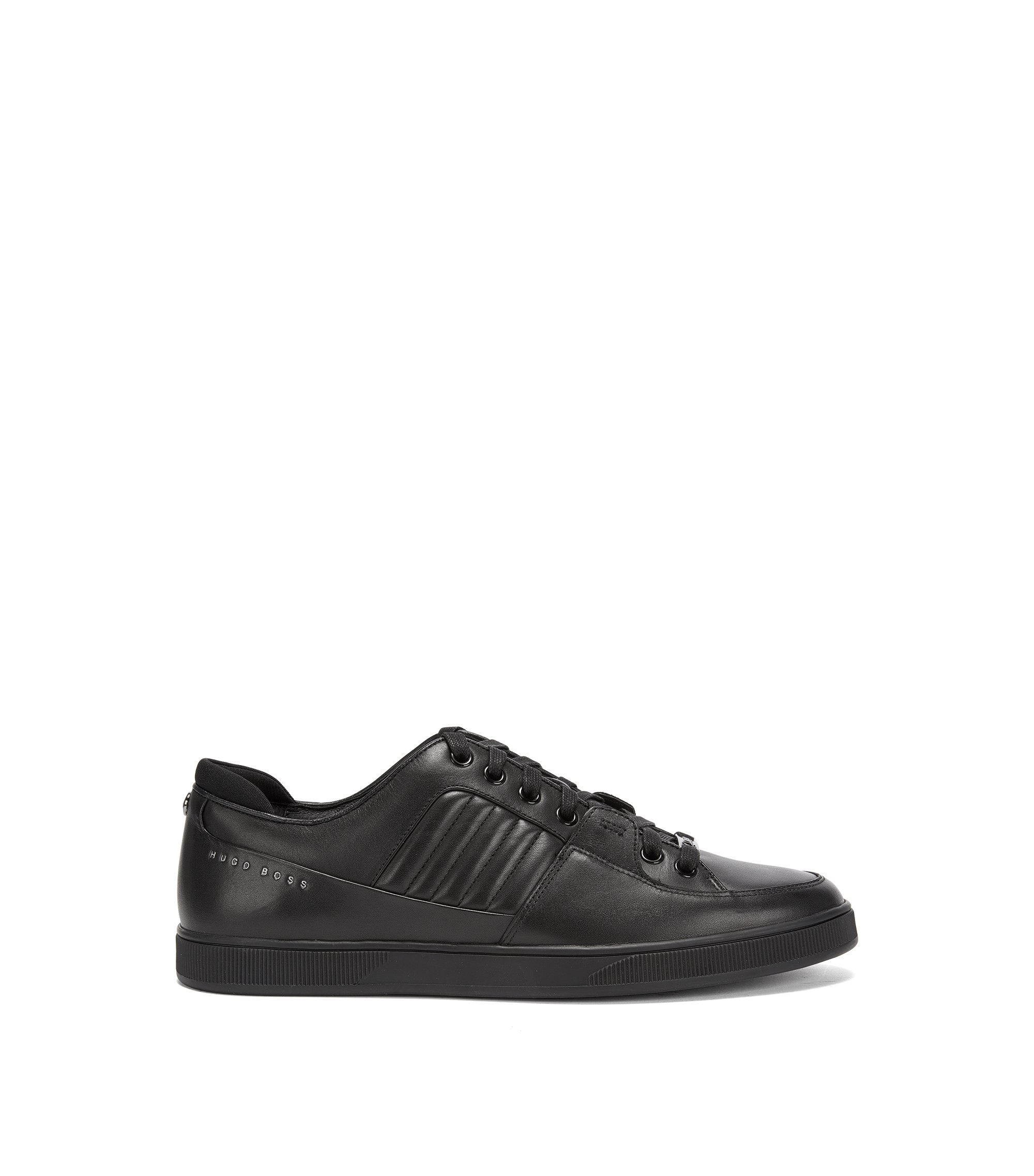 Mercedes-Benz Leather Sneaker | Across Tenn Mxmb, Black