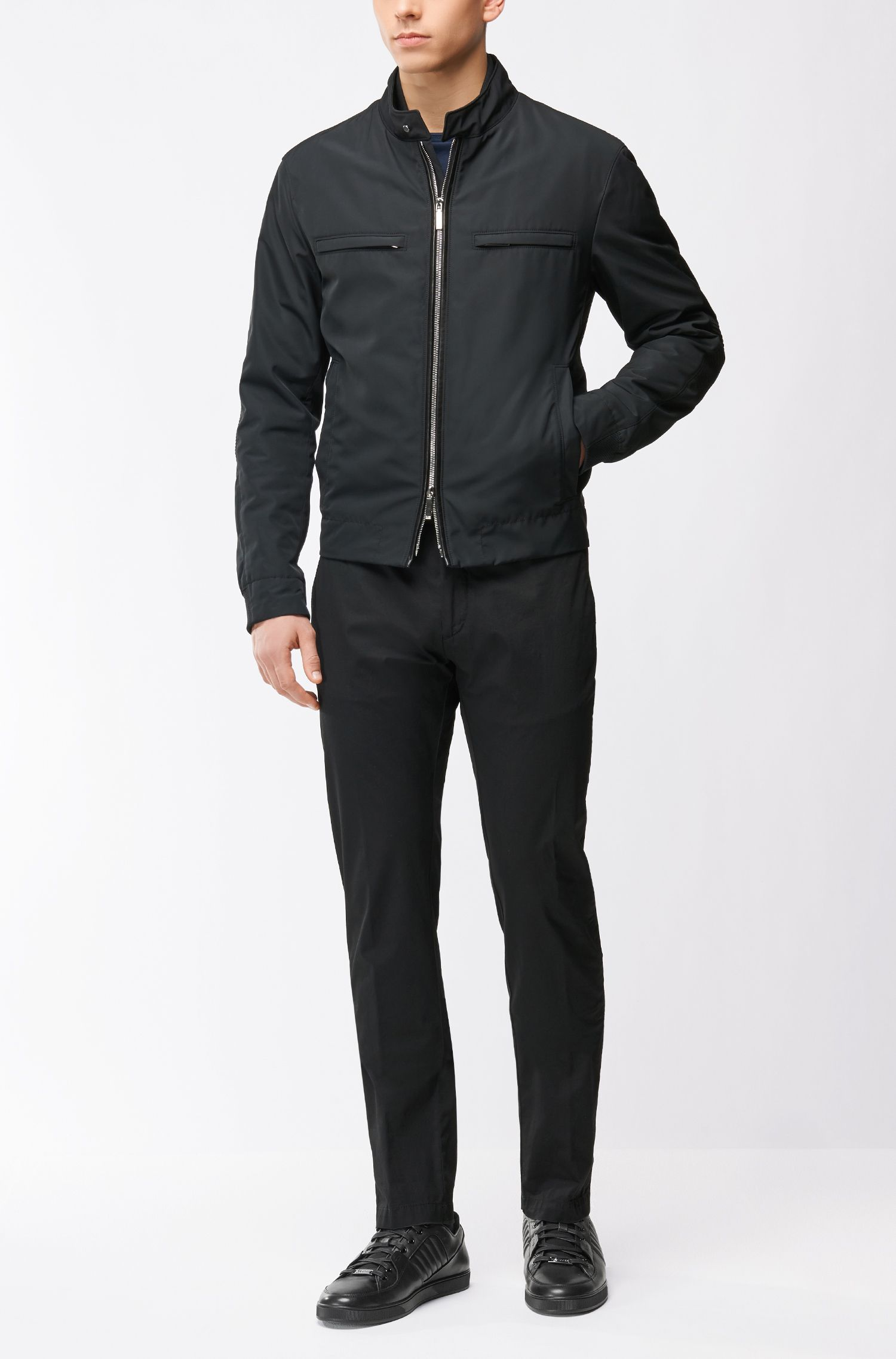 Mercedes-Benz Leather Sneaker   Across Tenn Mxmb