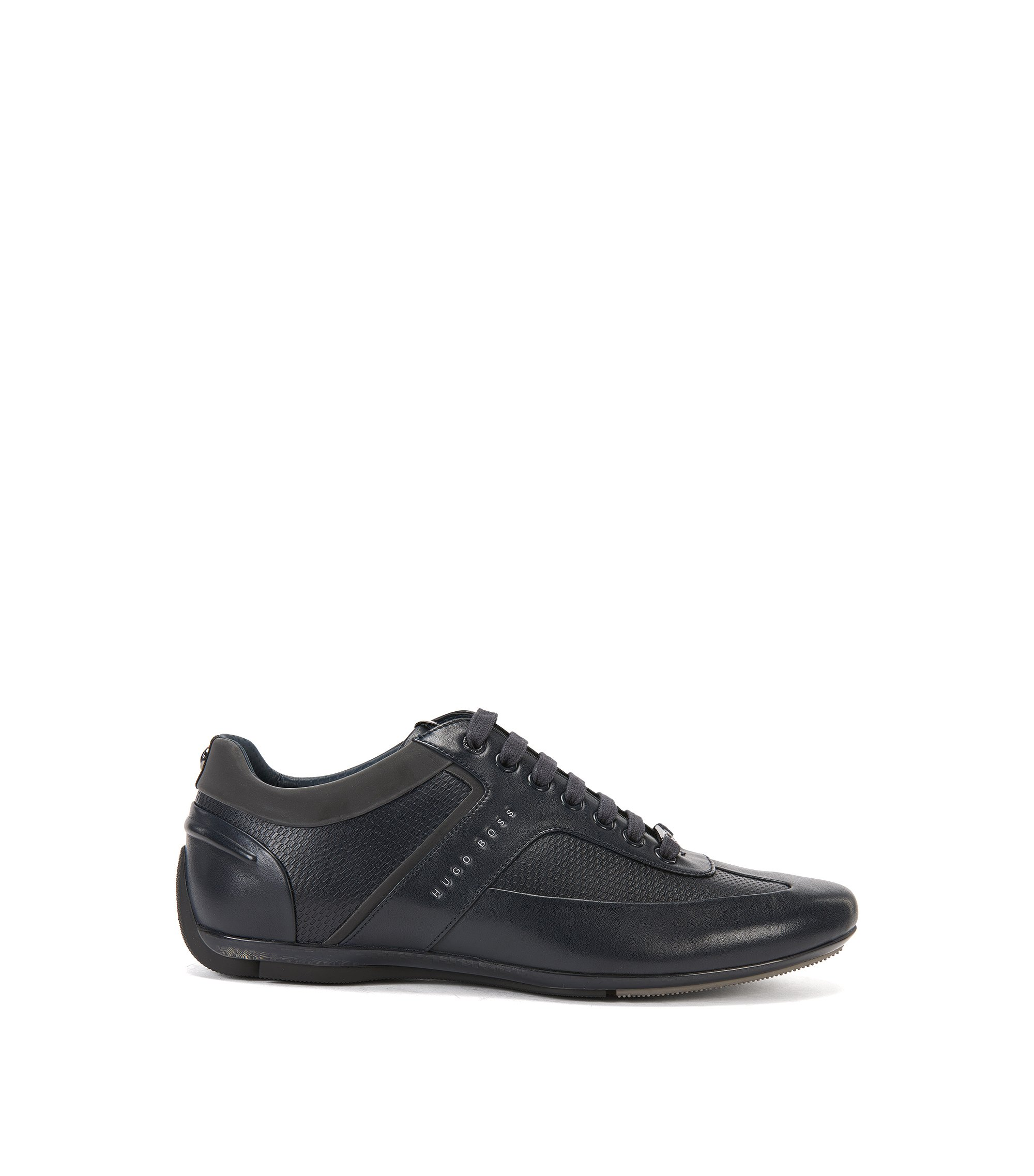 Mercedes-Benz Leather Sneaker | Sporty Lowp Itmb, Dark Blue