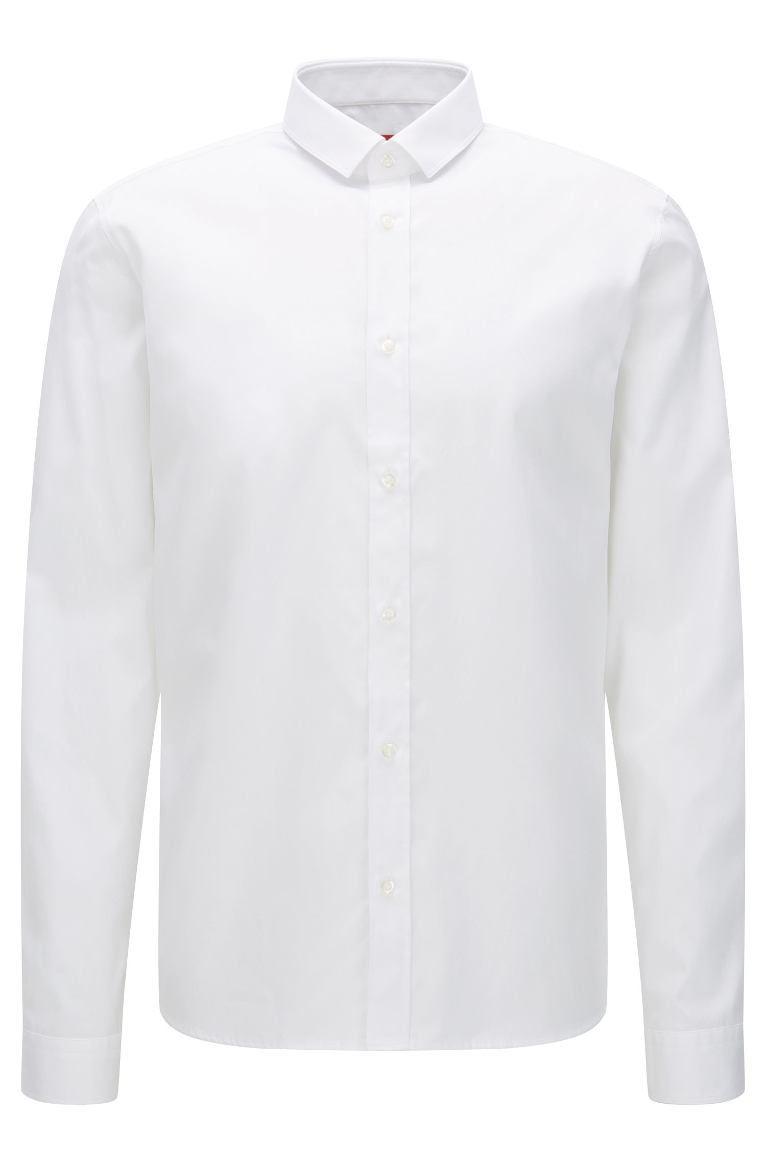 Cotton Zipper Button Down Shirt, Relaxed Fit | Ekong