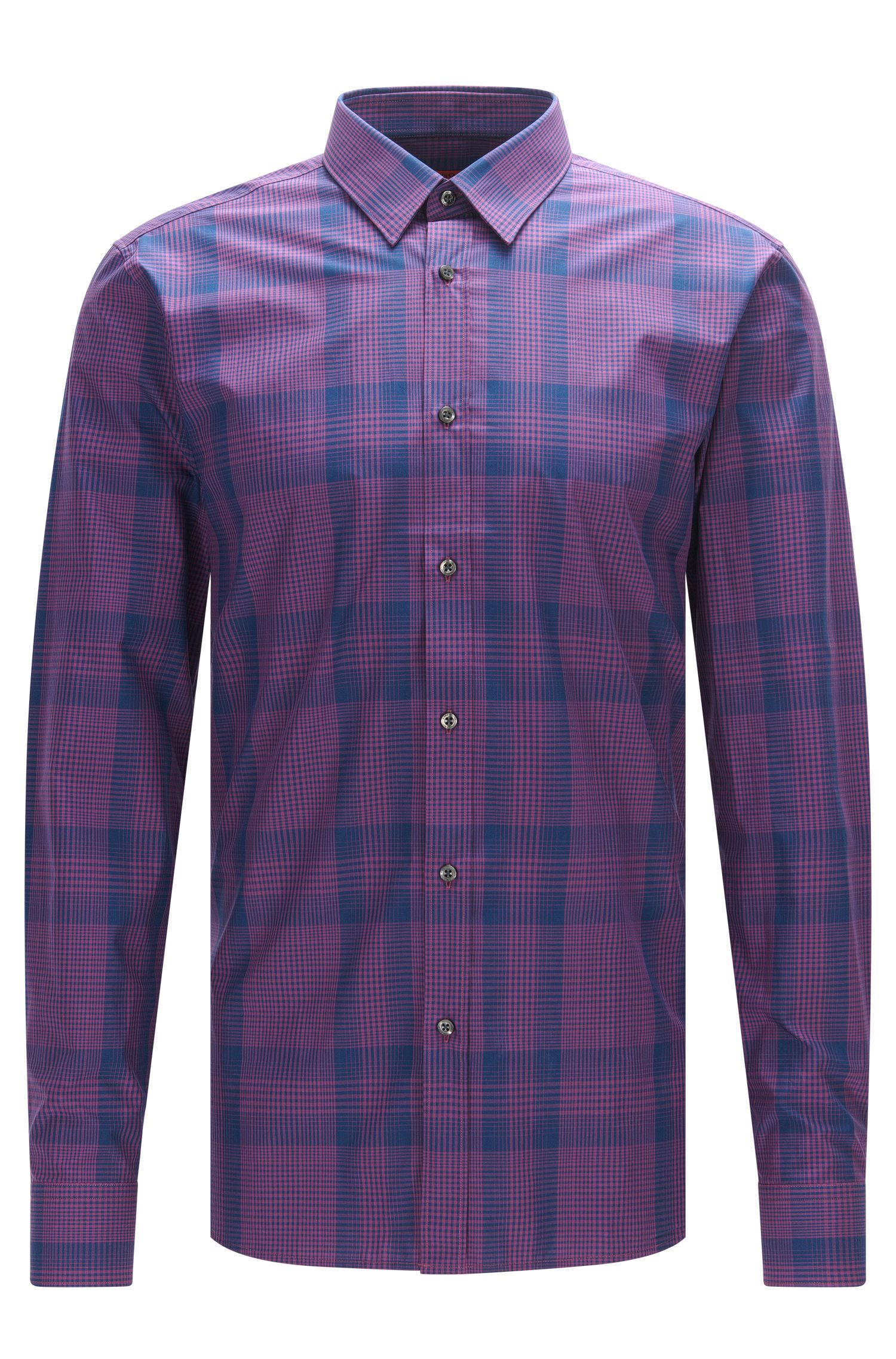 'Elisha' | Extra Slim Fit, Cotton Button Down Shirt