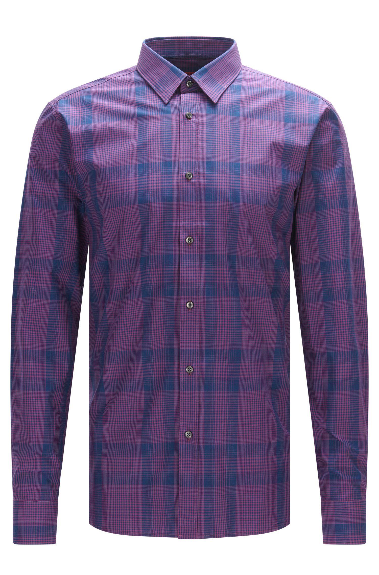 'Elisha'   Extra Slim Fit, Cotton Button Down Shirt