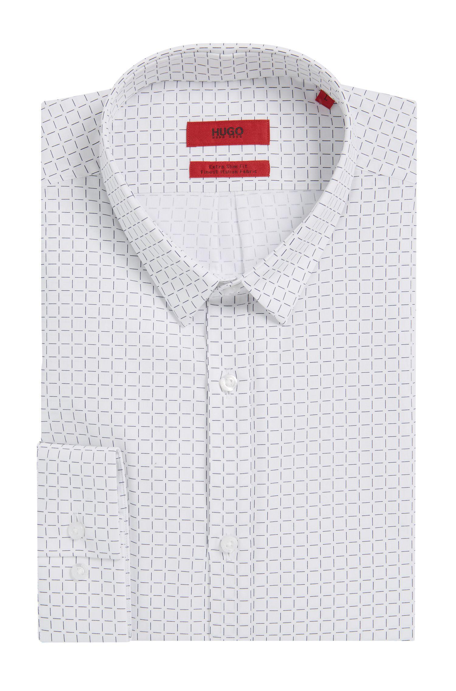 Cotton Button Down Shirt, Slim Fit | Ero