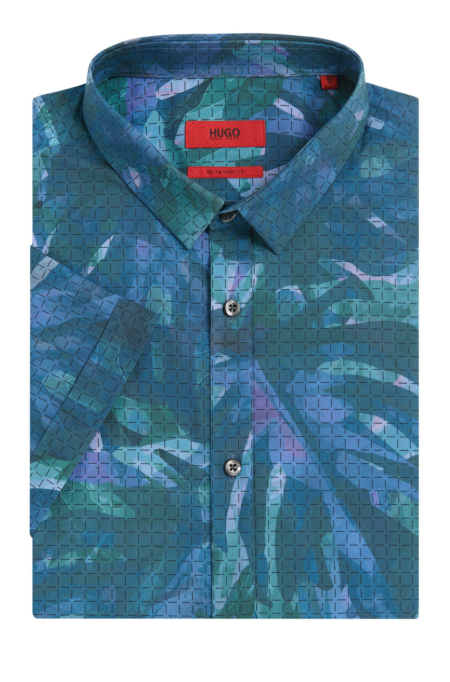 Cotton Button Down Shirt, Slim Fit | Empson